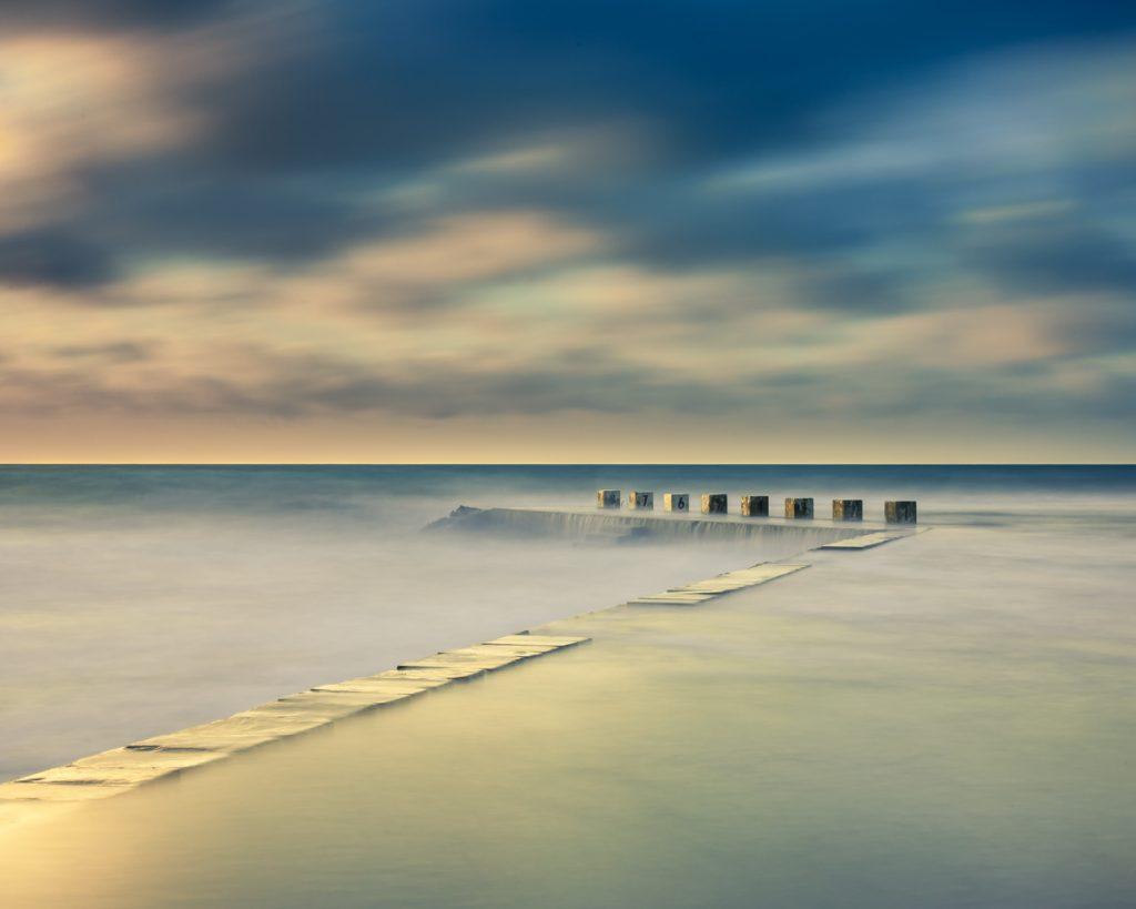 Le littoral normand par deux photographes.