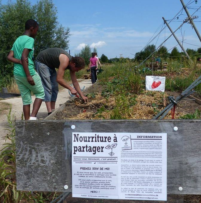 jardins étudiants