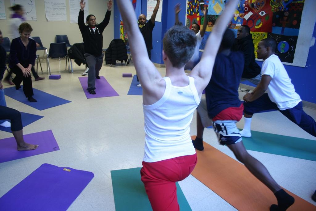 du yoga contre la prison