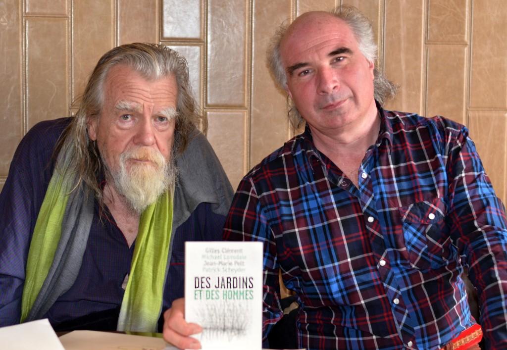 Michael Lonsdale et Patrick Scheyder