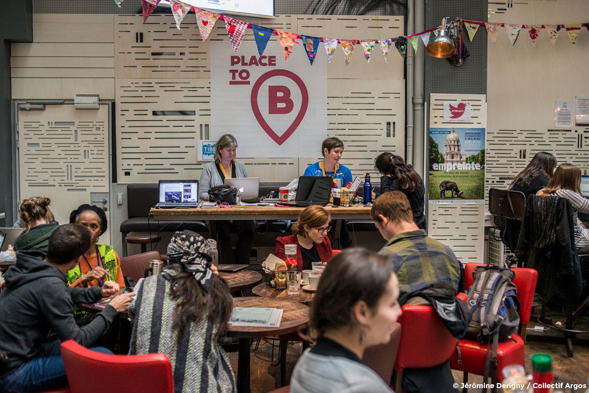 Place to B. Espace de coworking à Paris pendant la COP21