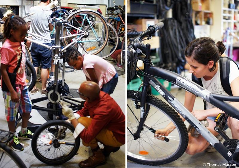 Réparer vélo