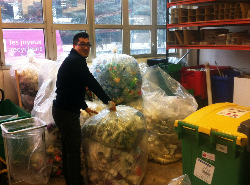 recycler au travail
