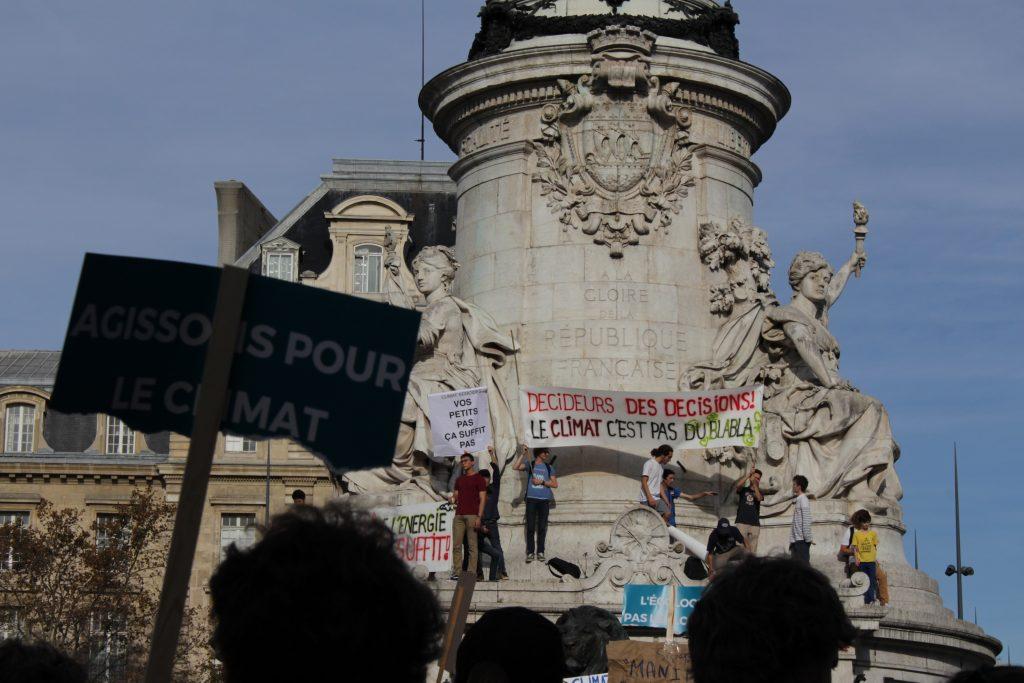 Marche pour le Climat à Paris, le 13 octobre 2018 / ©Maëlys Vésir