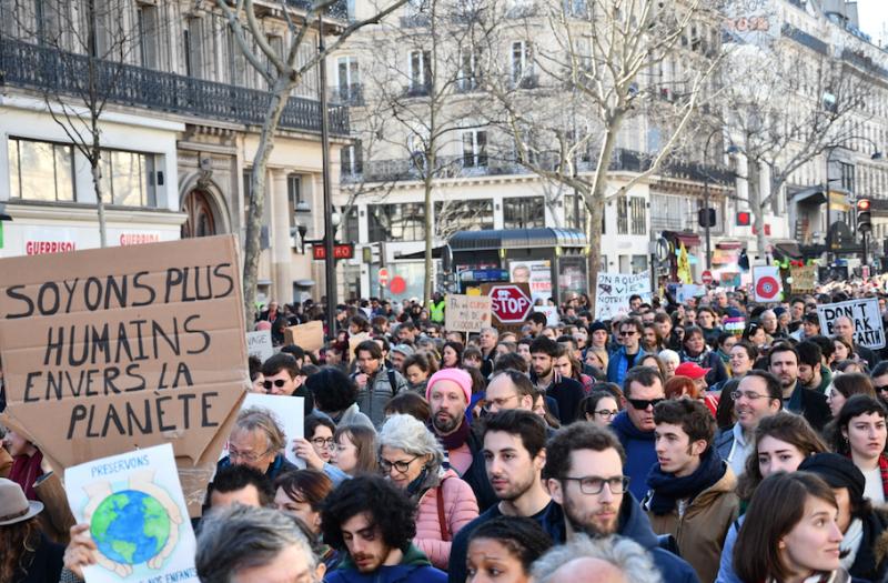 Marche du siècle pour le climat, le 16 mars 2019 à Paris / ©Maëlys Vésir