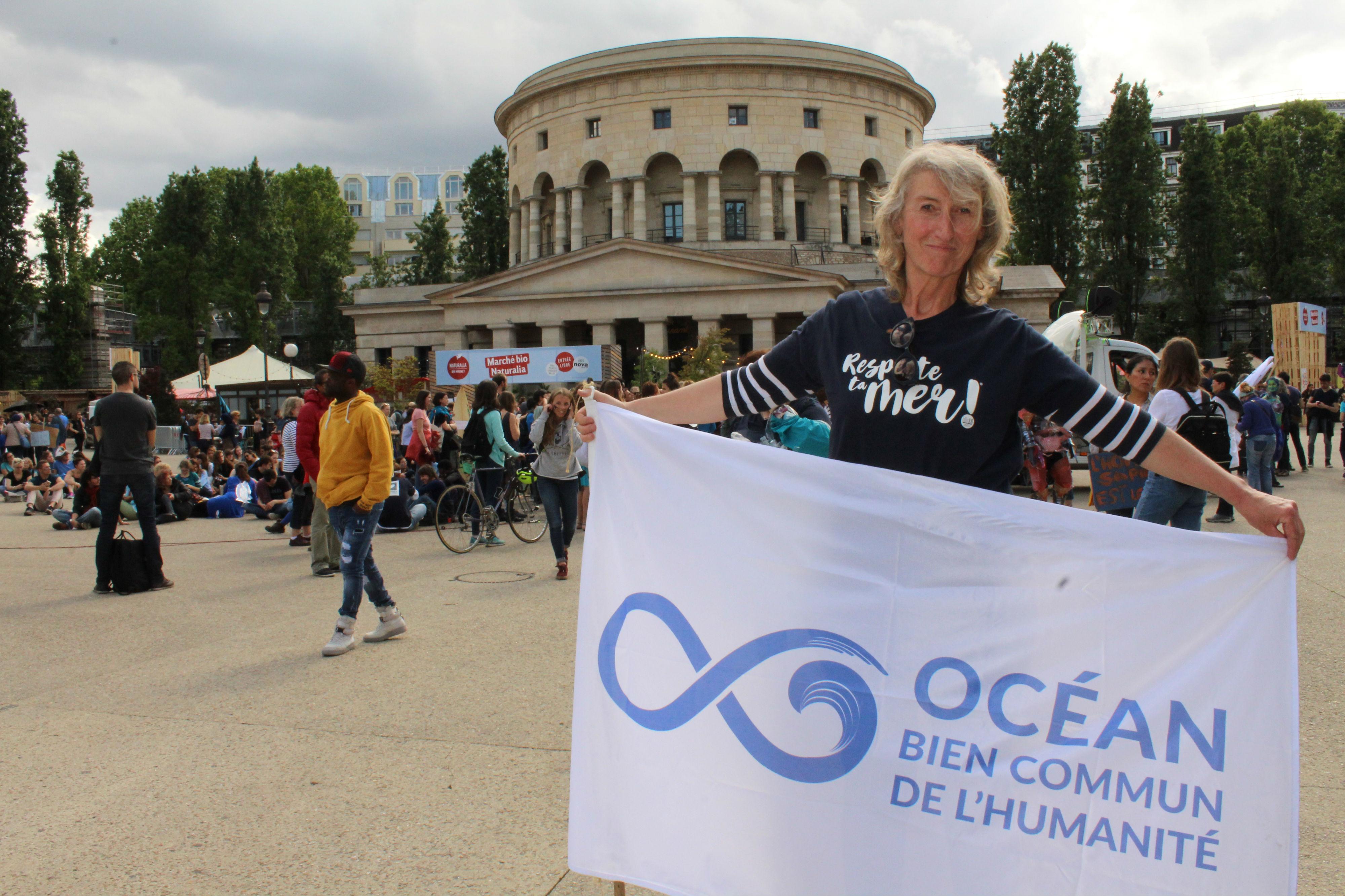 Catherine Chabaud, ancienne navigatrice et députée européenne / ©Cypriane El-Chami