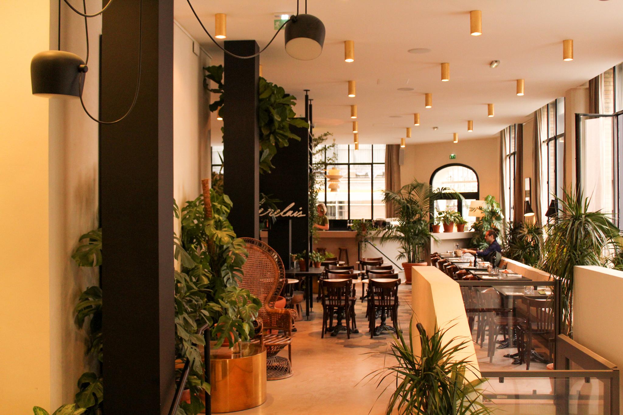 Le restaurant Le Relais a ouvert ses portes en mai 2019 / ©Cypriane El-Chami