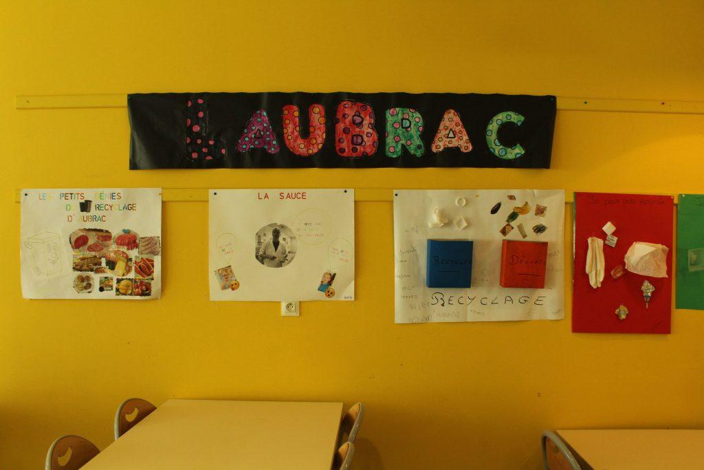 Le zéro déchet, cela s'apprend dès le plus jeune âge, au lycée Lucie Aubrac ! / ©Cypriane El-Chami