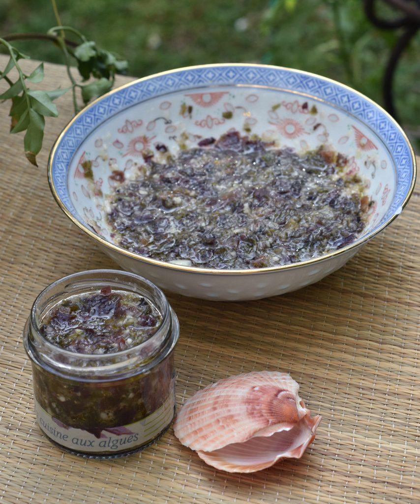 Recette du tartare d'algues - Kaizen