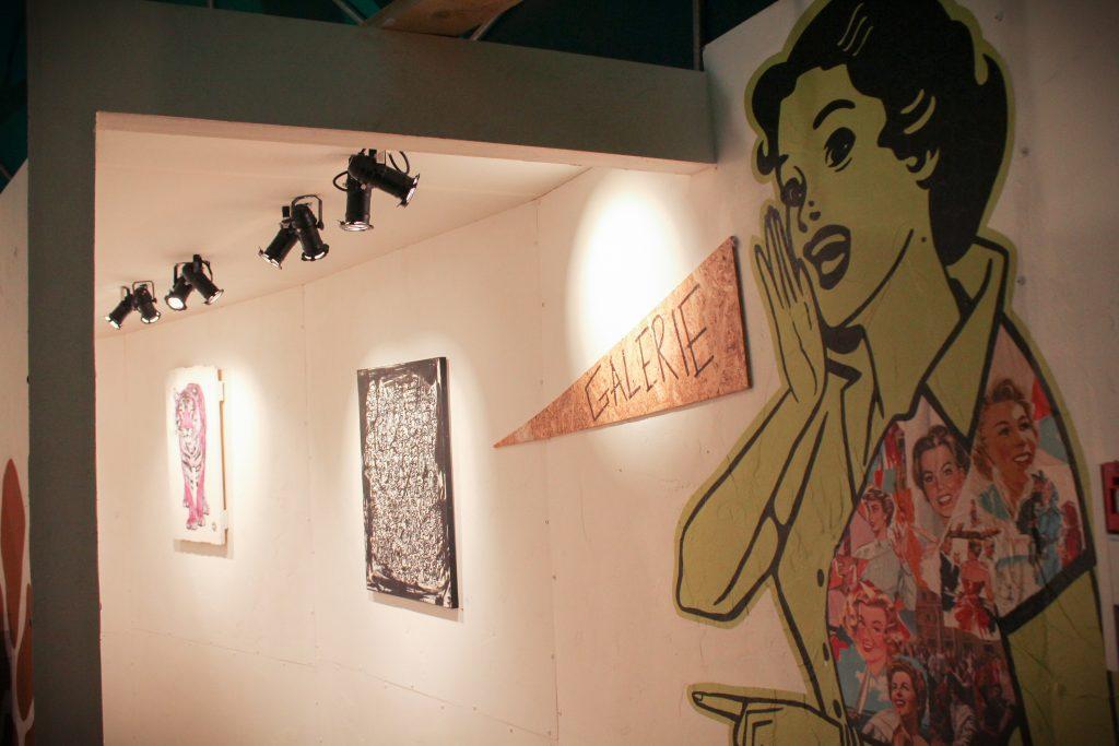 Pour découvrir le travail des street-artistes, la Forêt Escargot propose également une galerie et une boutique / © Cypriane El-Chami