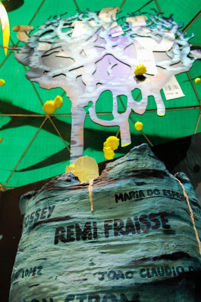 Certaines œuvres sont engagées comme celle-ci de Sly2, en hommage aux activistes écologiques / © Cypriane El-Chami