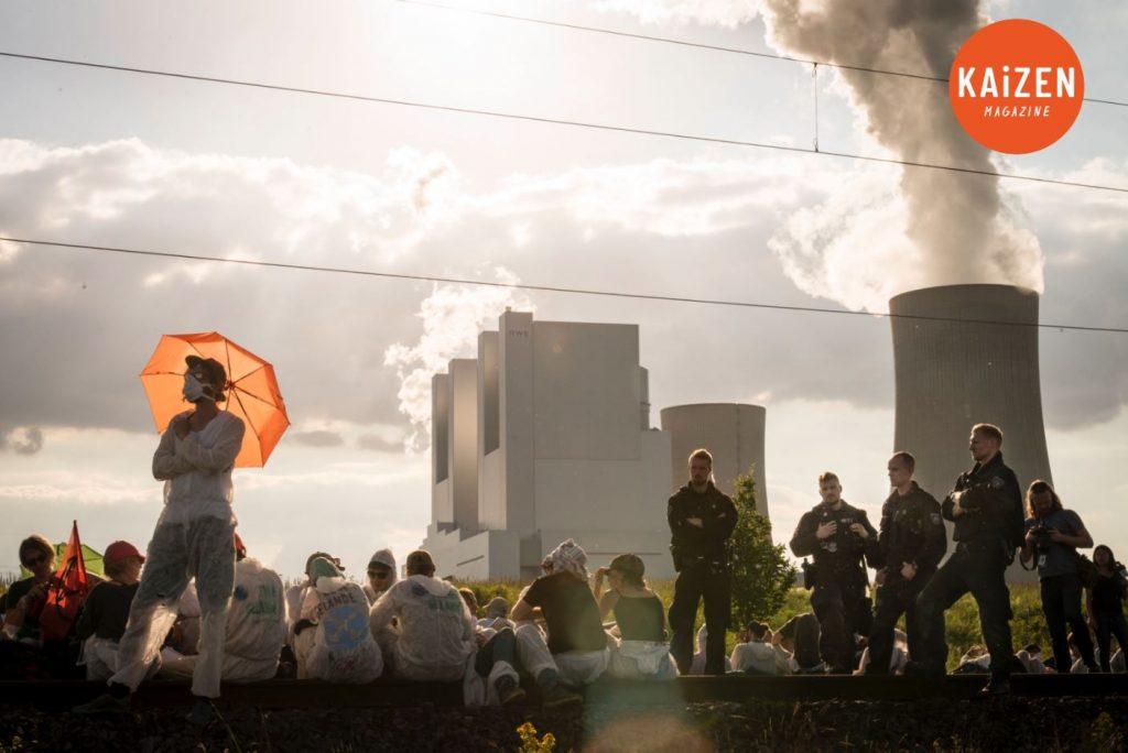 Ende Gelände : la désobéissance civile de masse / Jérômine Derigny, collectif Argos
