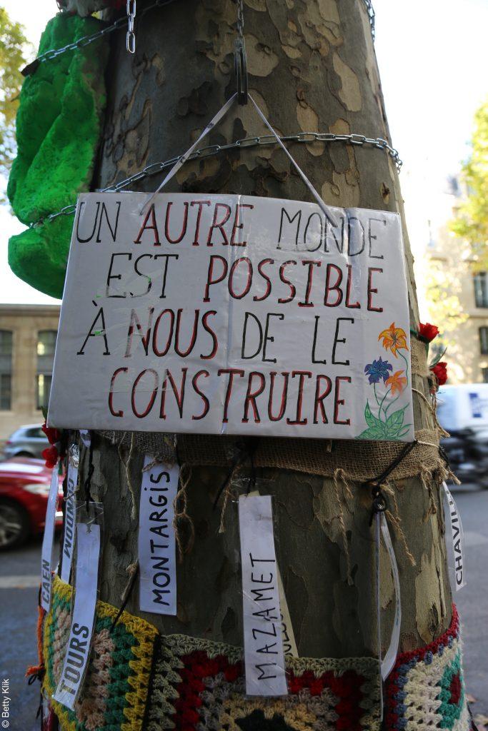 Partout en France, des arbres se font abattre chaque année. Face à cette situation, des GNSA citoyens se forment pour alerter et tenter de les protéger / Crédits : Betty Klik