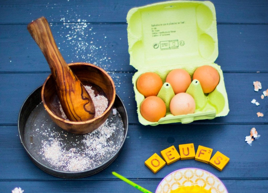 Les œufs, des alliés de qualité du zéro-déchet / Crédits : Linda Louis