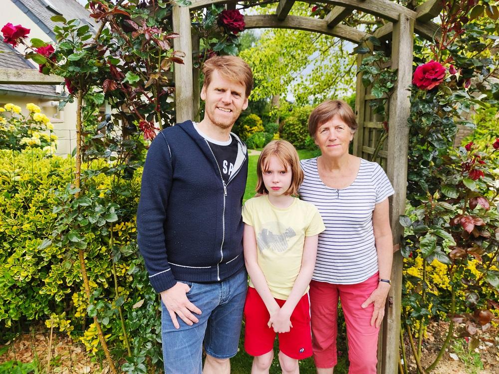 Pierre-Yves comprend mais ne parle pas breton, mais sa fille et sa mère elles, le parlent.